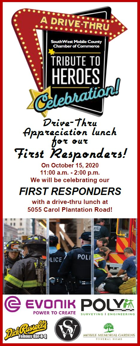 1st responder drive thru lunch