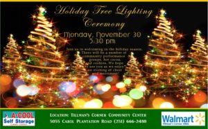2020 Tree lighting