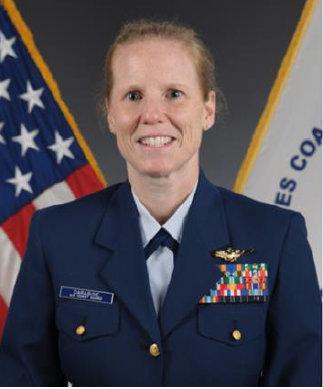 CDR, Catherine Carabine, USCG