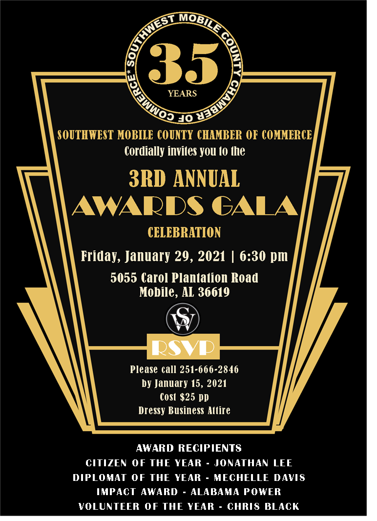2021 Awards Gala Save the Date