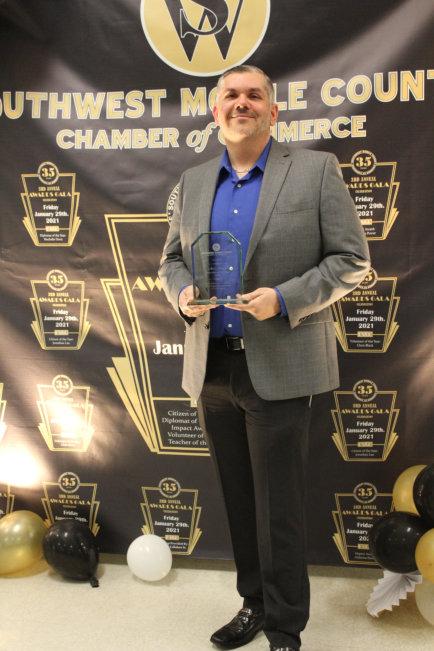 Chris Black Volunteer of the Year 2020