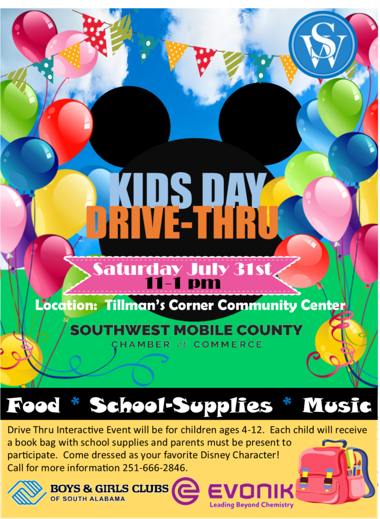 Kids Day Drive Thru