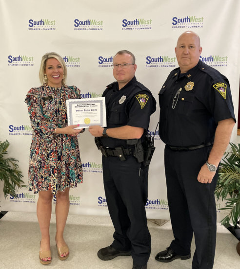 Officer of the Month - Travis Smith