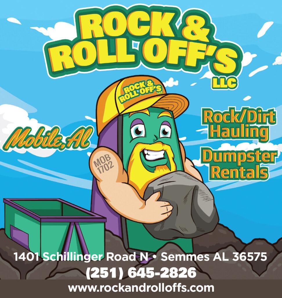Rock and rolloffs